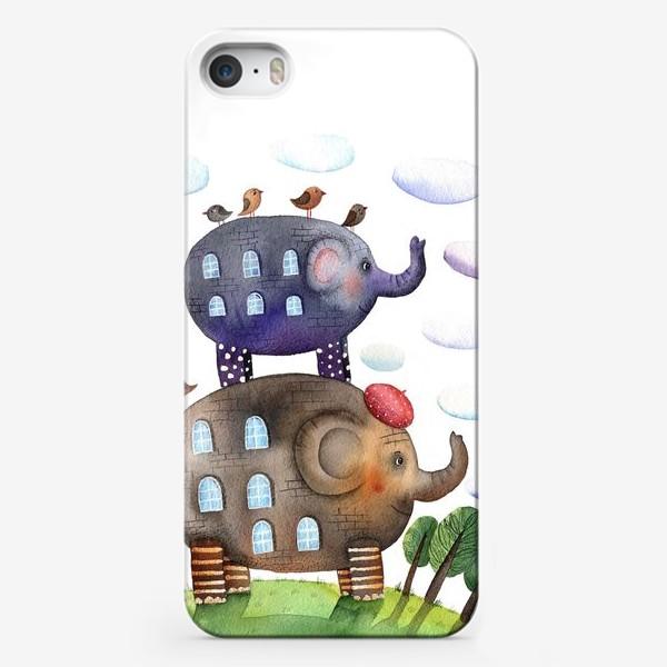 Чехол iPhone «Cлонодом»