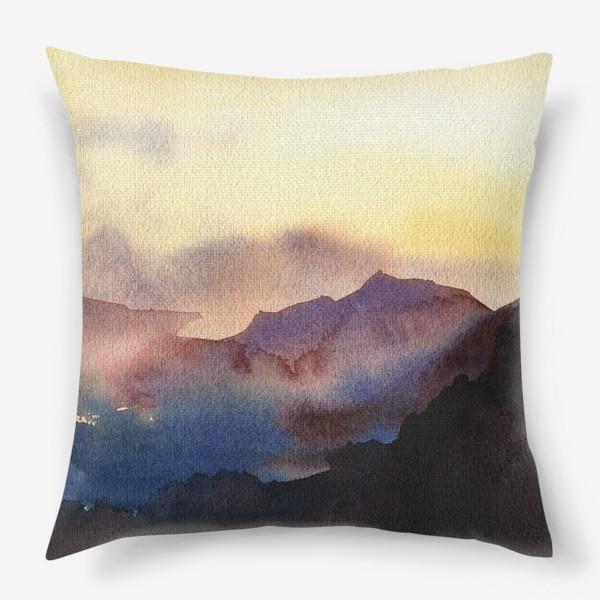 Подушка «Sunset»