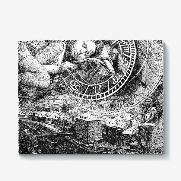 Холст «Сны старого города»