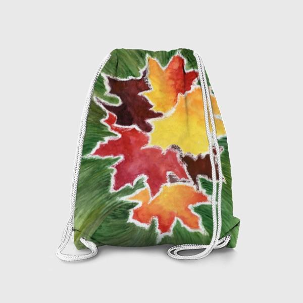 Рюкзак «Листья в инее»