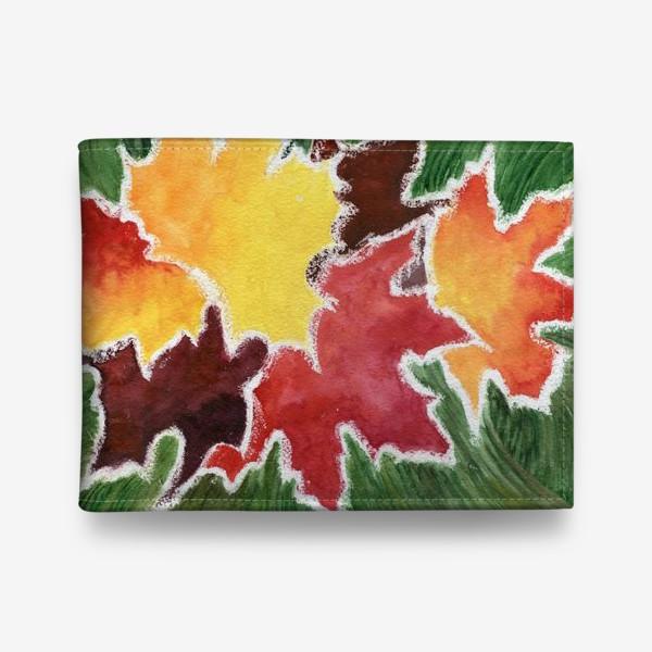 Кошелек «Листья в инее»
