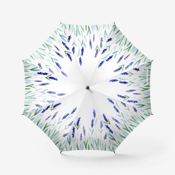 Зонт «Лавандовое поле»