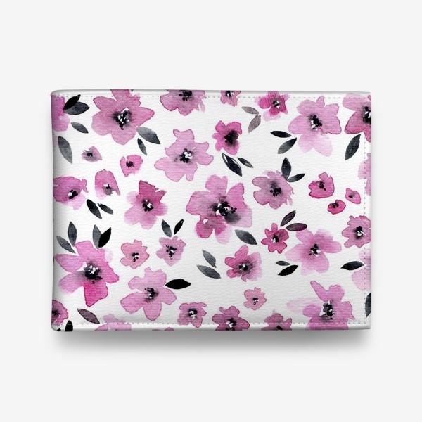 Кошелек «Розовые цветы»