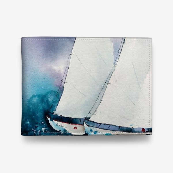 Кошелек «Море»