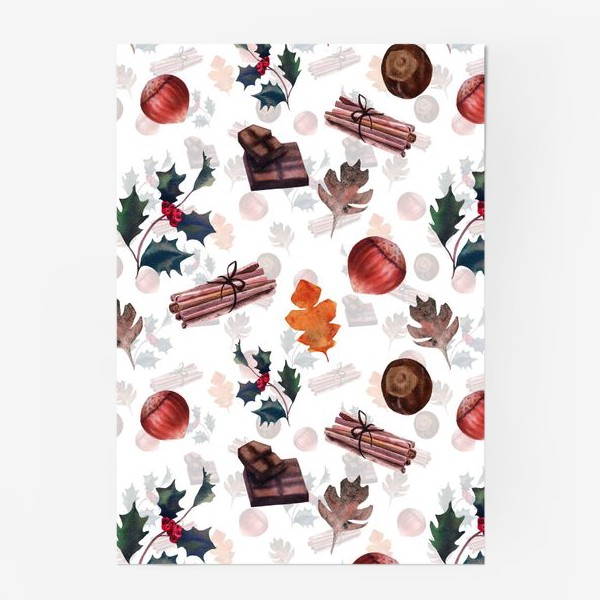 Постер «Christmas morning»