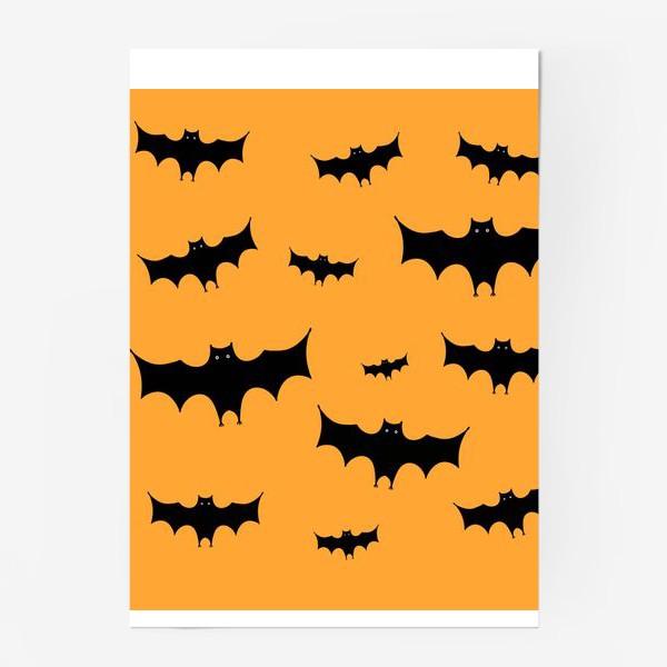 Постер «Летучая мышь»
