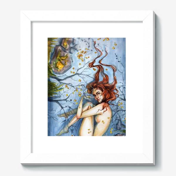 Картина «Осень. Девушка в воде»