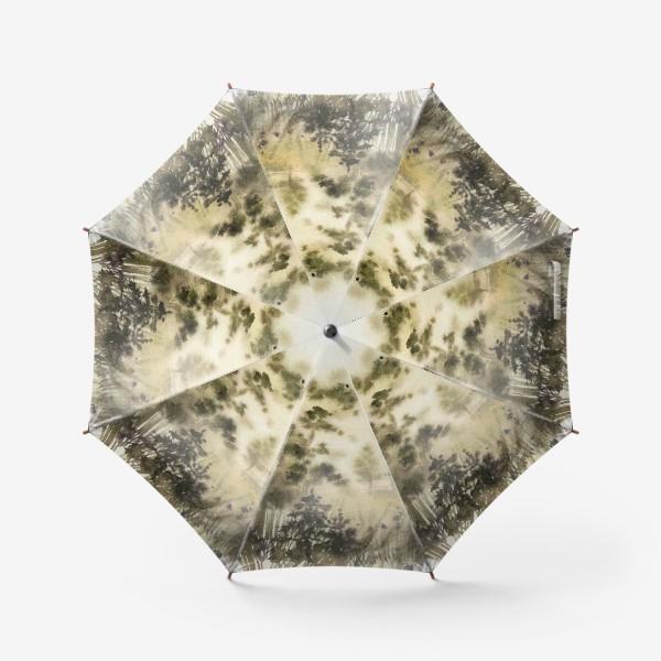 Зонт «Осень в тумане»