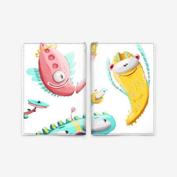 Обложка для паспорта «дудлы»