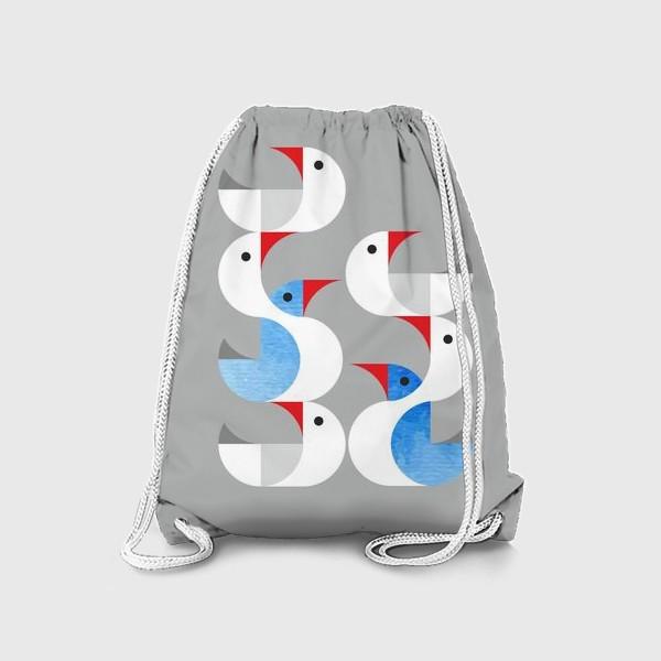 Рюкзак «Гуси лебеди.»