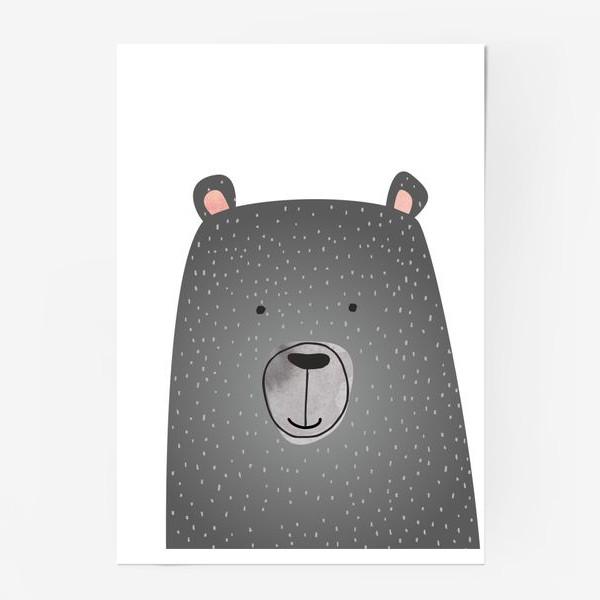 Постер «Мишка серый»