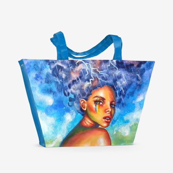 Пляжная сумка «Гроза»