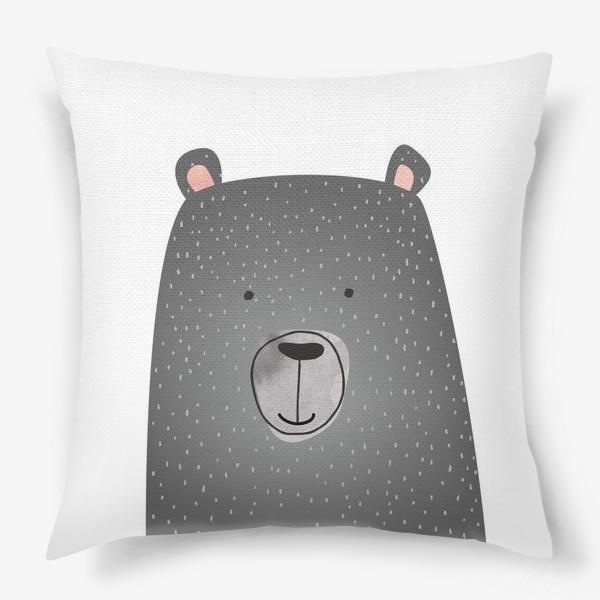 Подушка «Мишка серый»