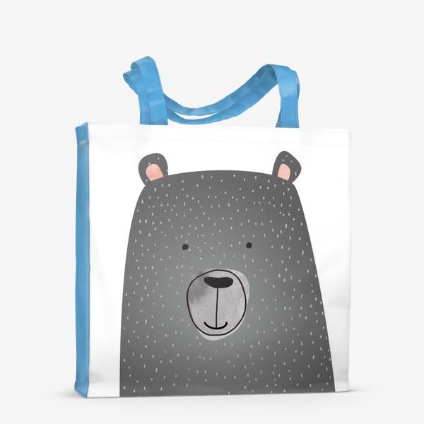 Сумка-шоппер «Мишка серый»