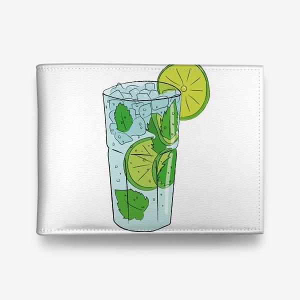 Кошелек «Мохито. Алкогольный коктейль»