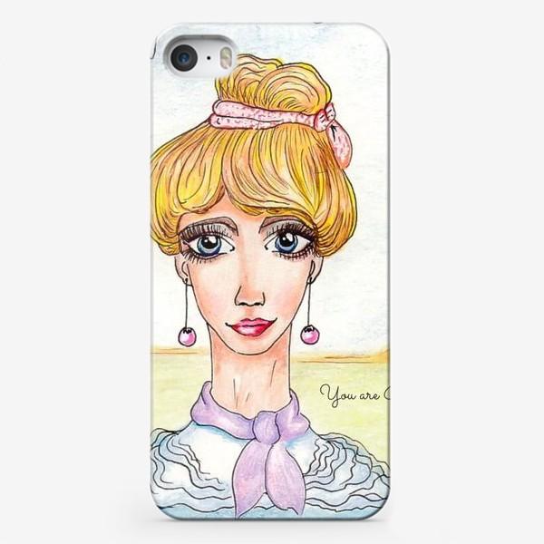 Чехол iPhone «Принцесса»