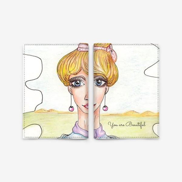 Обложка для паспорта «Принцесса»