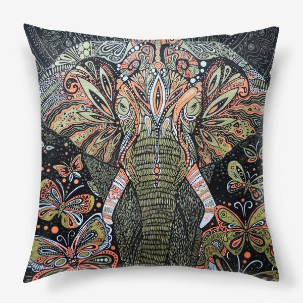 Подушка «слон»