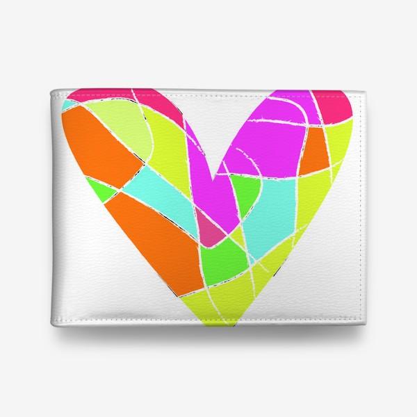 Кошелек «Мозаичное сердце»