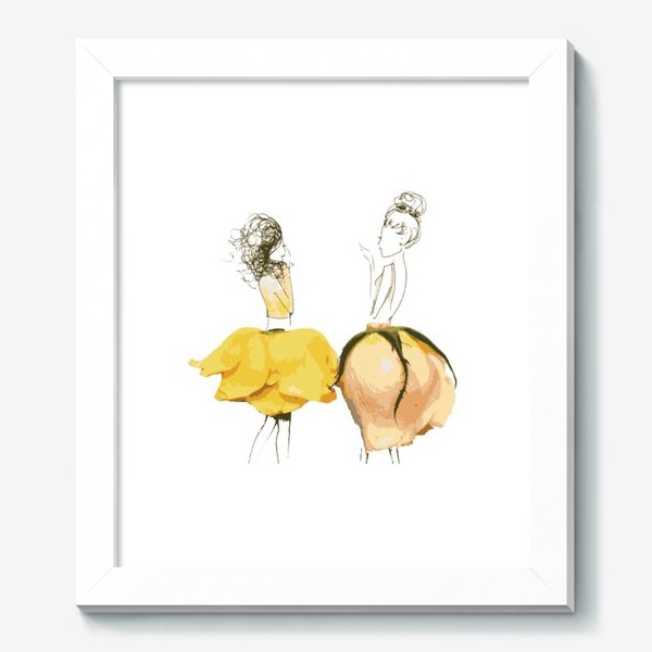 Картина «Девушки в цветочных юбках»