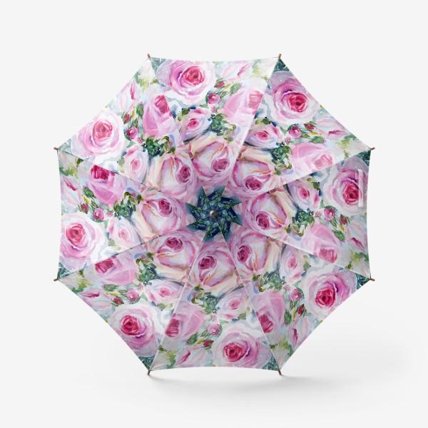 Зонт «Розовые розы»