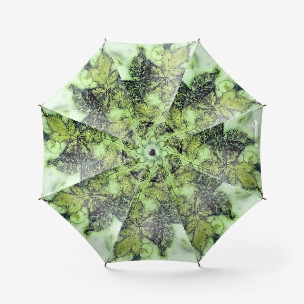 Зонт «Листья. Сумерки.»