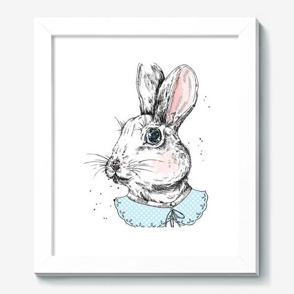 Картина «Милый кролик в платье»