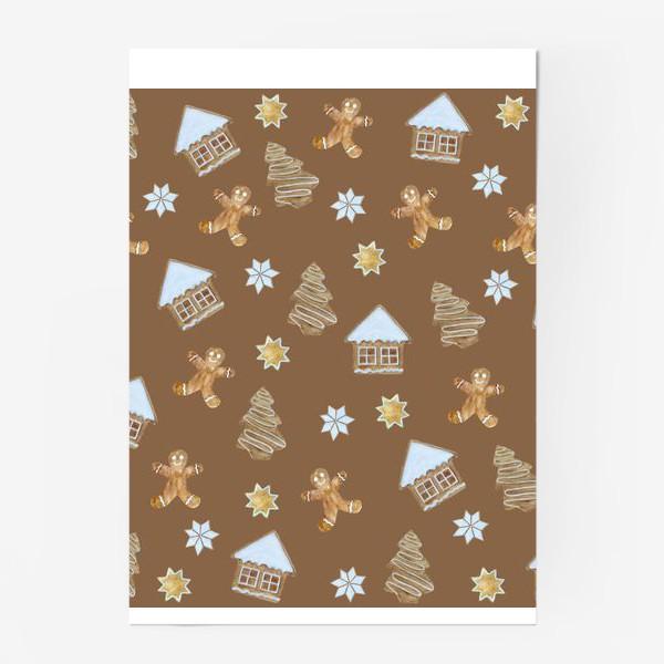 Постер «Рождественские печенья»