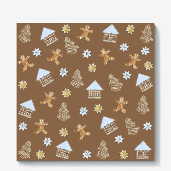 Холст «Рождественские печенья»
