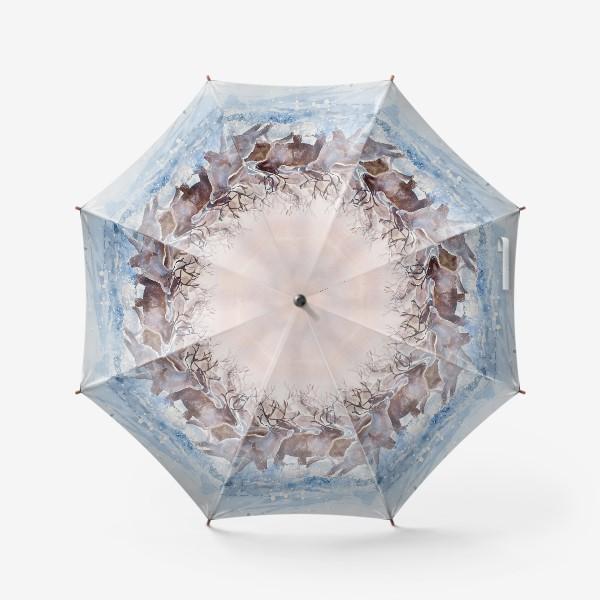 Зонт «Северные олени»