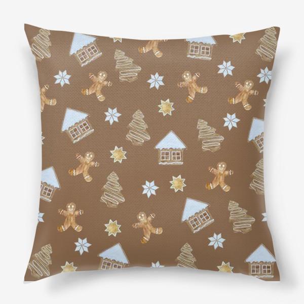 Подушка «Рождественские печенья»