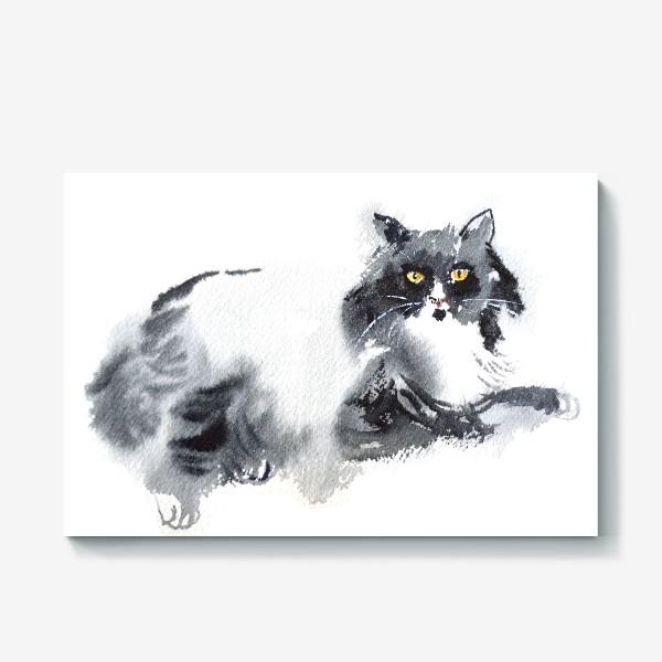 Холст «Кошка отдыхает»