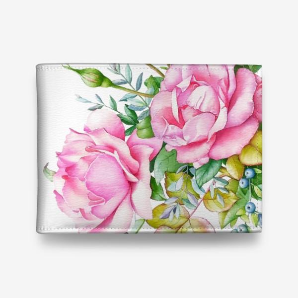 Кошелек «Розовый букет»