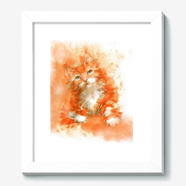 Картина «Рыжий кот»