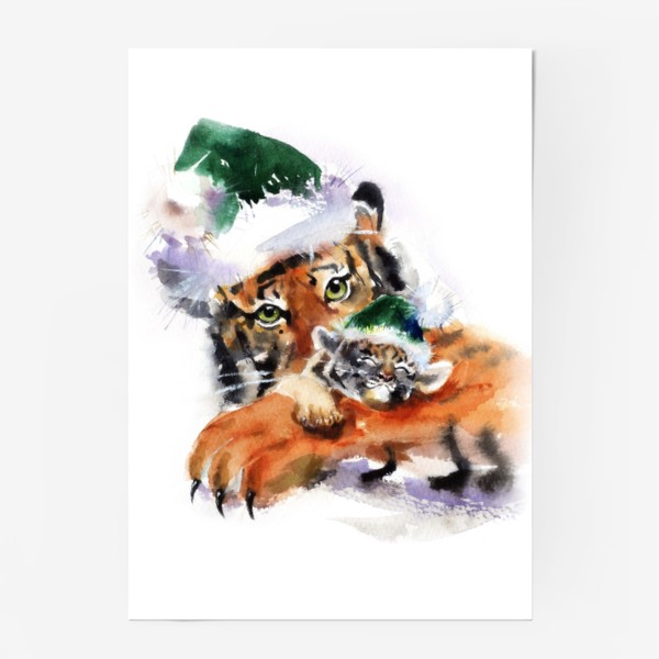 Постер «ТИГР С ТИГРЕНКОМ»