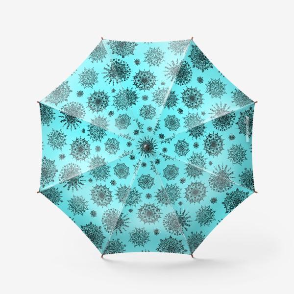 Зонт «Blue Oriental Pattern»