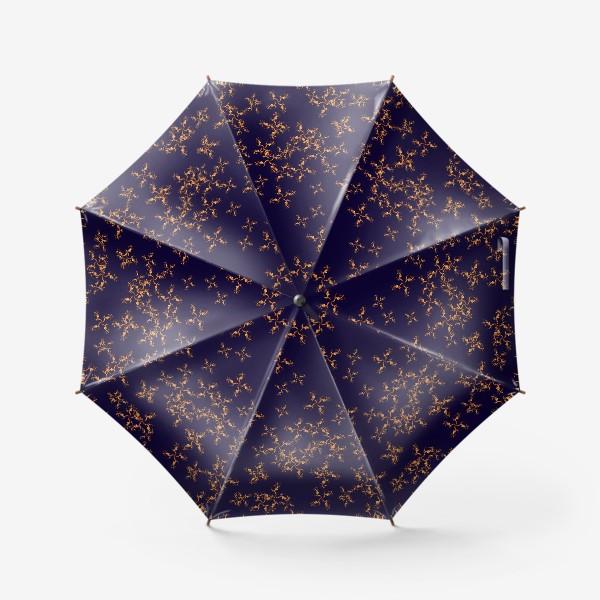 Зонт «Огонь fire паттерн»