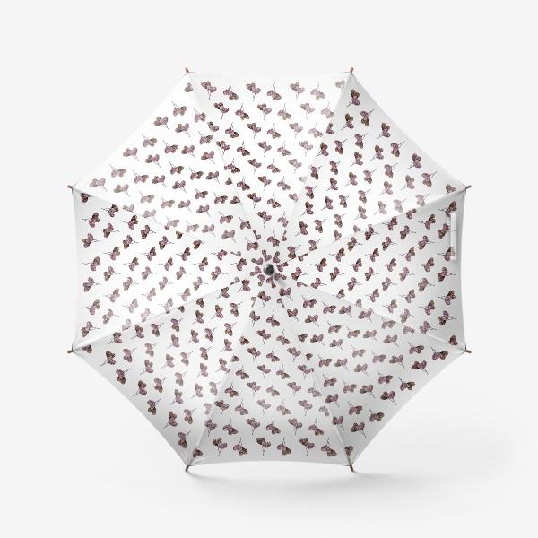 Зонт «Леденцы-паттерн»