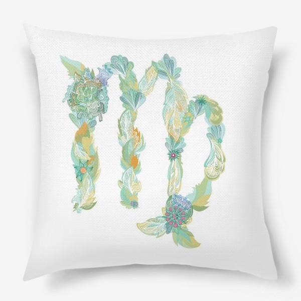 Подушка «Знак Зодиака Дева»