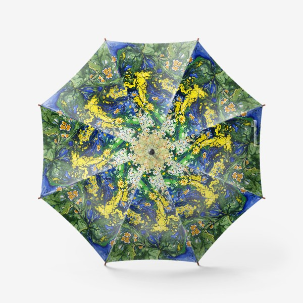 Зонт «Полевые цветы»