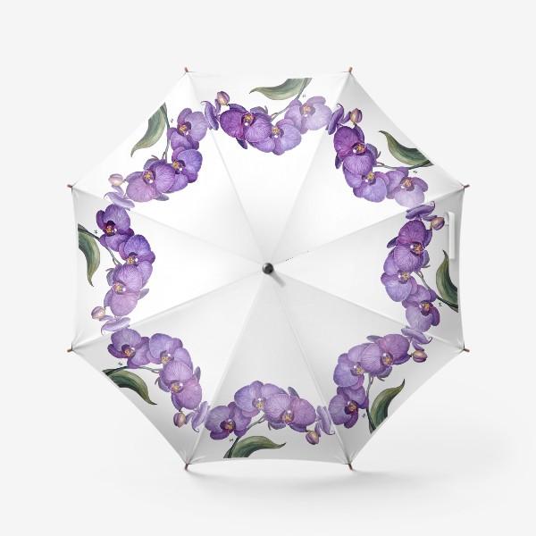 Зонт «Ветка орхидеи»