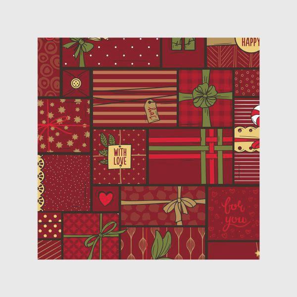 Скатерть «Рождественские подарки»