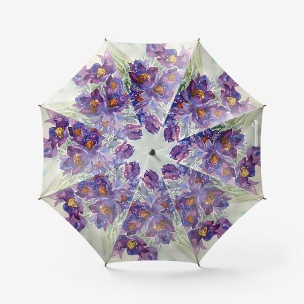 Зонт «Весенний букетик»