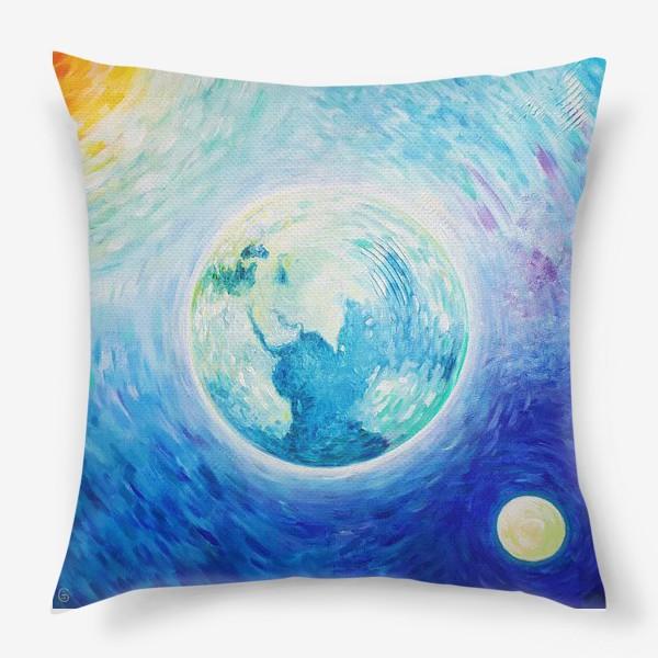 Подушка «Моя планета»