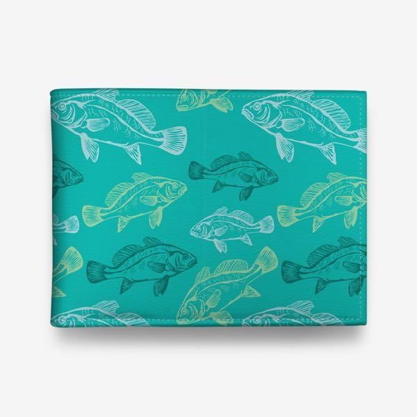 Кошелек «Морские рыбы в бирюзе»