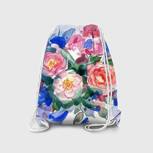 Рюкзак «Цветочный принт»