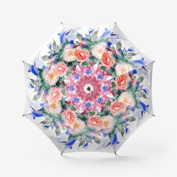 Зонт «Цветочный принт»