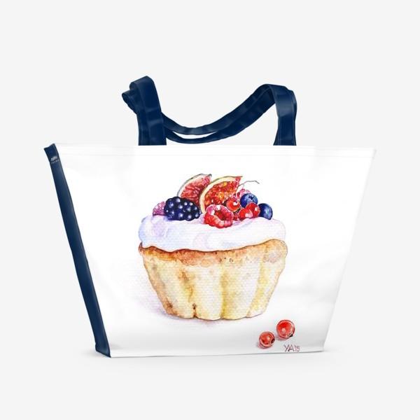 Пляжная сумка «Кекс»