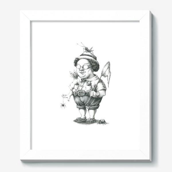 Картина «Энтомолог»