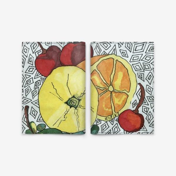 Обложка для паспорта «Апельсин»